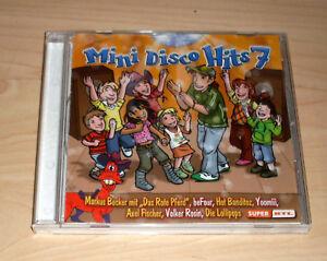 CD-Album-Sampler-Mini-Disco-Hits-7-Partymusik-Kindermusik