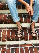 Free People Marrakesh Lace Up Sandals Size 6 MSRP: $100 New Urban Outfitters