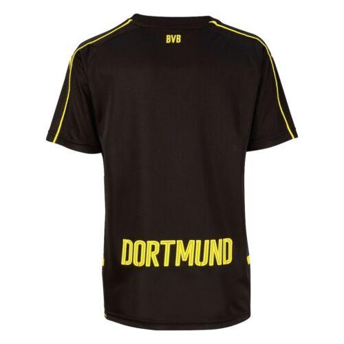 Puma Bvb Borussia Dortmund Away Maglia Trasferta 2016/2017 Nero ...