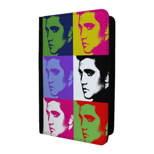 Pop art porte-passeport etui housse-elvis presley-S-A150