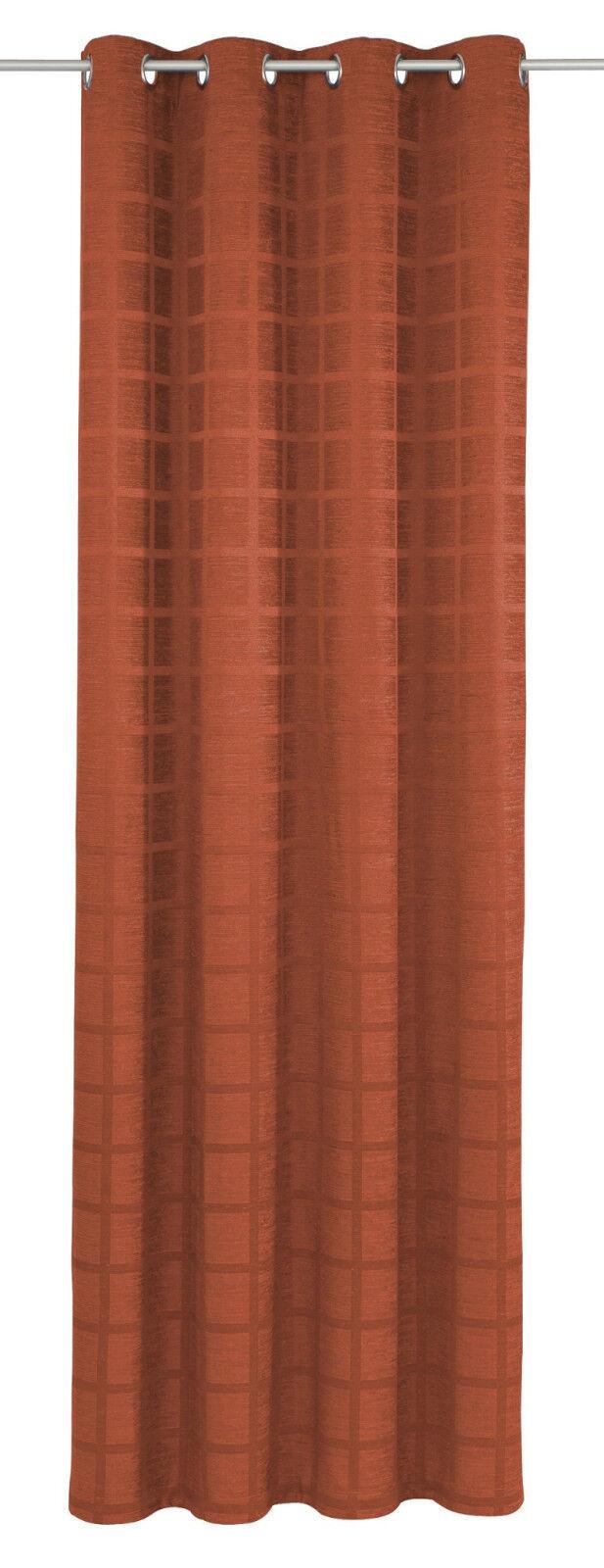 Thermovorhang   Ösenschal Brixlegg Farbe 46 terra terra terra   5 Größen | Hervorragende Eigenschaften  5d5ff9