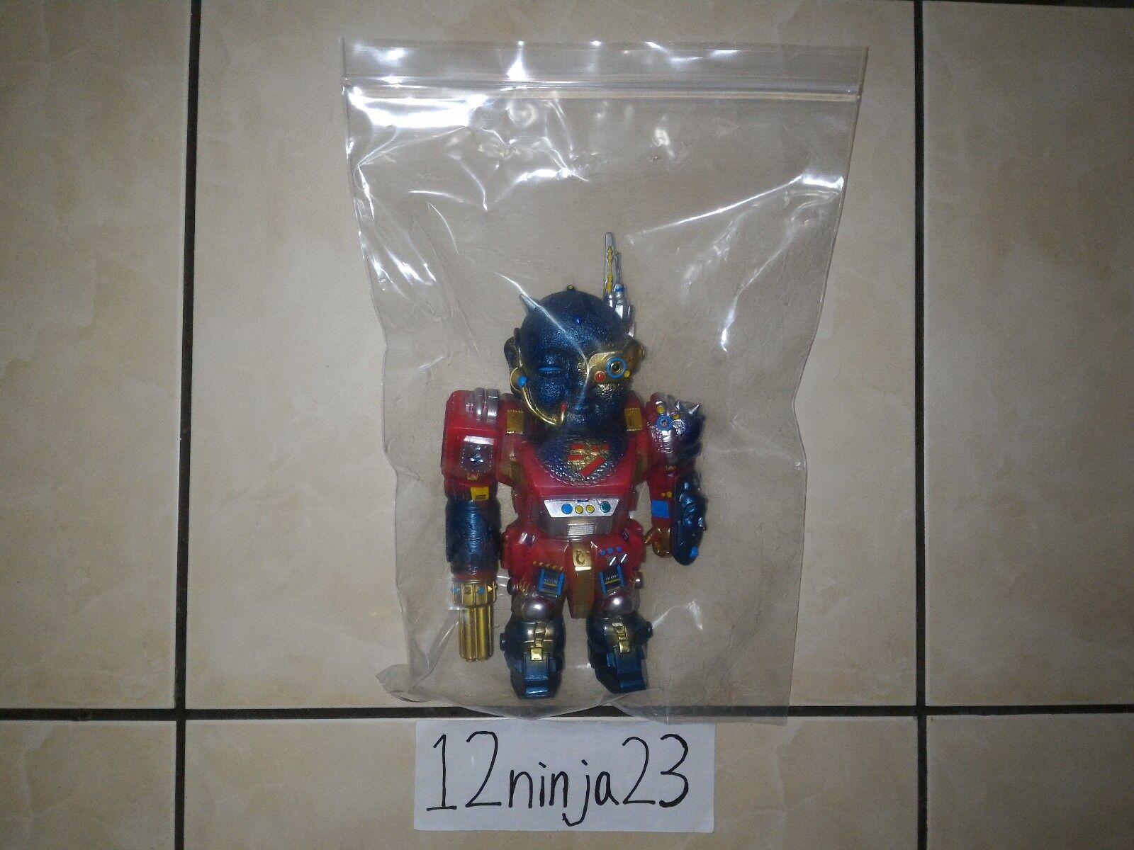 Mirock Toy JIZO-Shoulder Red Chogokin Toys color - Sofubi Sofvi Soft Vinyl Toy