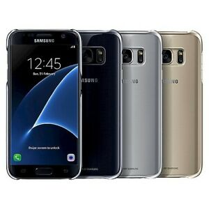 100-Authentic-Samsung-Galaxy-S7-Edge-amp-Galaxy-S7-Clear-View-Case-Cover