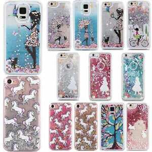 new style 60b16 0da03 Details about Cute Glitter Lady Unicorn Bunny Phone Case Cover Samsung  Galaxy S4 S5 S6 S6 EDGE