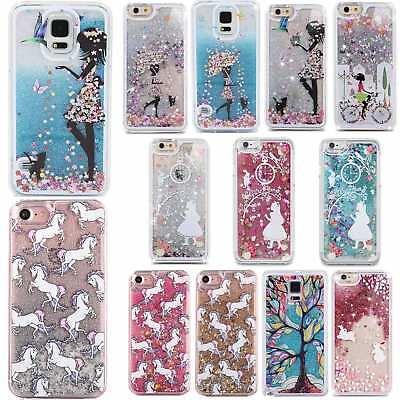 sale retailer 93847 ad17b Cute Glitter Lady Unicorn Bunny Phone Case Cover Samsung Galaxy S4 S5 S6 S6  EDGE | eBay
