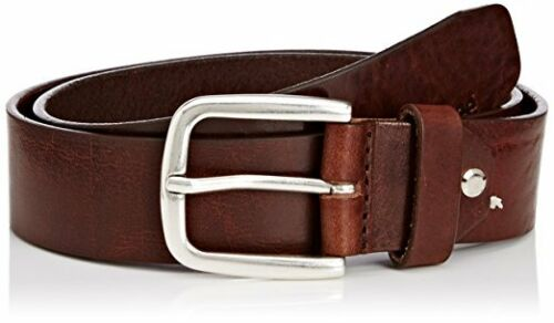 MENS LEE JEANS QUALITY LEATHER BELT LF045024 TAN BROWN