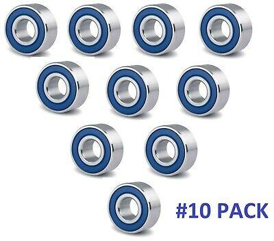 10-PACK 1616-2RS C3 Premium Ball Bearing ZSKL 1//2 x 1-1//8 x 3//8 MM