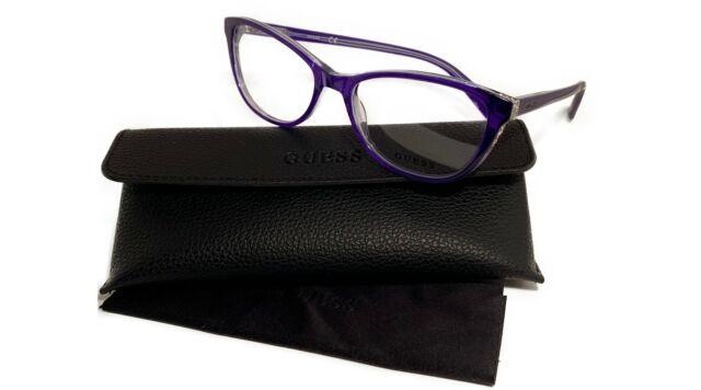 Eyeglasses Guess GU 2592 090 Shiny Blue//Clear Lens