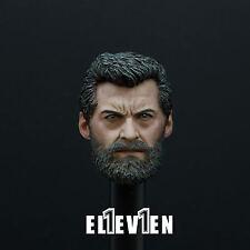 PREORDER Eleven 1/6 Scale Logan Head Sculpt For Hot Toys Wolverine Figure Body