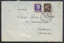 POSTA MILITARE 1941 Lettera PA da PM 22 a Ognina (MA)