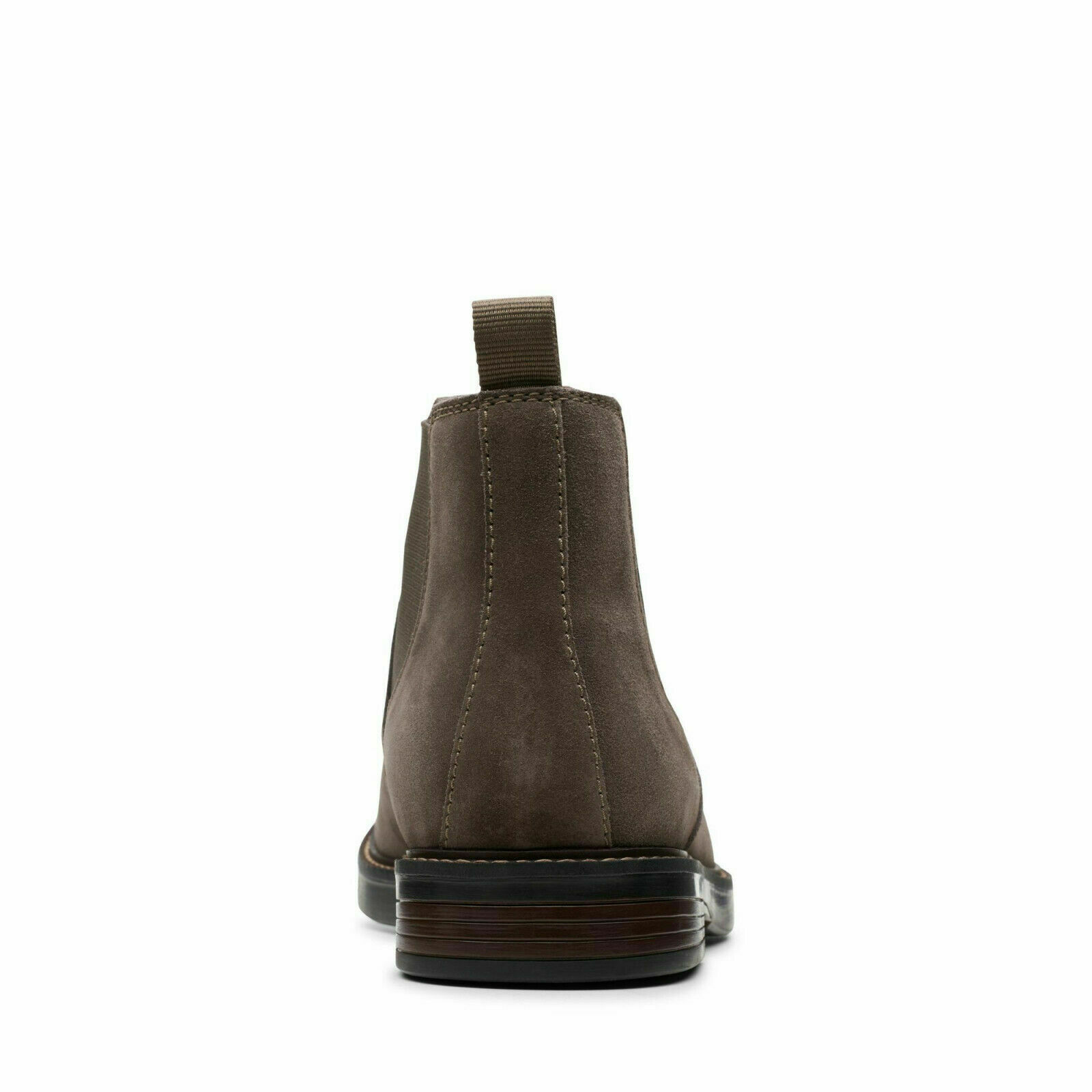 Mens Clarks Paulson Up Casual Pull On Chelsea Dealer Suede Boots Sizes 7 to 10