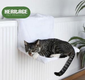 Dog-Cat-Radiator-Bed-Warm-Faux-Fur-Kitten-Basket-Cradle-Hammock-Puppy-Animal-Pet