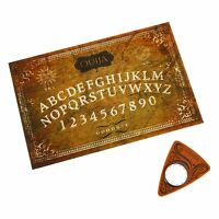 Ouija Occult Paranormal Board Game W Electronic Planchette Indicator By Everest