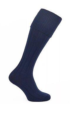 1-12 Paires Homme Long Tuyau Laine Écossais Kilt Chaussettes Ecru Crème Chaussettes Lot Taille 6-11