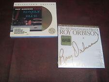 ROY ORBISON Lonely & Blue 24KARAT GOLD CBS MASTERSOUND ORIGINAL + MFSL HITS CD