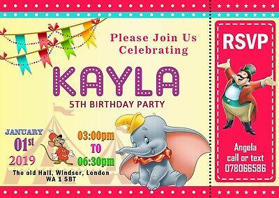 10 x personnalisé enfants anniversaire invitations//thank you cartes thomas the tank