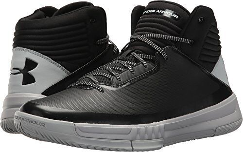 471023ddcaf7 Under Armour Men s Lockdown 2 Basketball Shoe Black 003 overcast Gray 10.5  for sale online