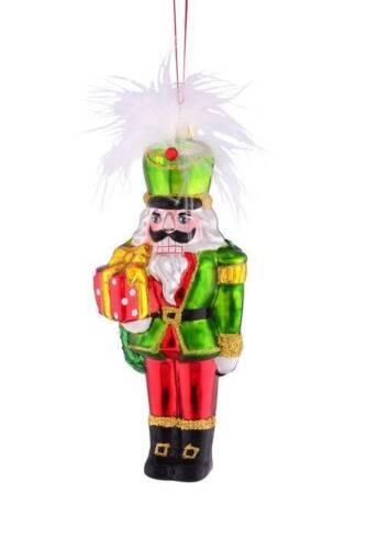 Gift Company Christbaumschmuck X-Mas NUSSKNACKER M GESCHENK Glas