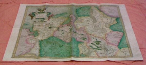 Angemessen Die Territorien Des Nordwestdeutschen Raums 1585 - Replikat