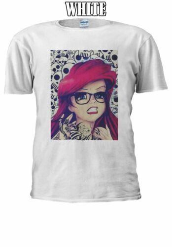 Goth Princess Ariel Men Women Unisex T Shirt T-shirt Vest Baseball Hoodie 493