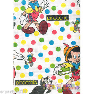 Details About Pinocchio Paper Table Cover Vintage Birthday Party Supplies Decorations Disney