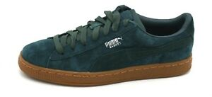 official photos 13be6 04b86 Details about J8054 New Women's Puma Basket Core Green Suede Leather  Sneaker 5.5 M