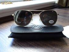 American Optical Original Pilot 55mm Oro Gafas de sol polarizadas