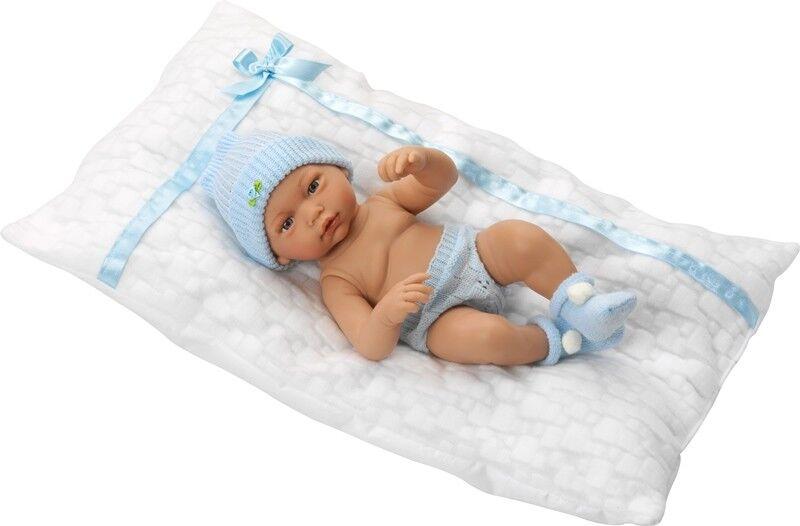 Lebensechte Puppe GILBERTO 36cm Reborn Babypuppe Sammlerpuppe Vinyl Spielzeug