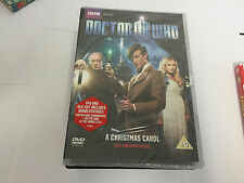 DOCTOR WHO ~ A CHRISTMAS CAROL~ (2010 CHRISTMAS SPECIAL) ~ BRAND NEW SEALED