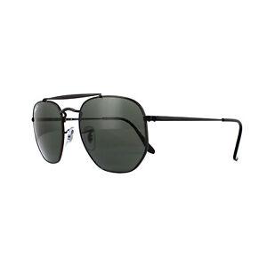 a68a28e35b Ray-Ban Sunglasses Marshal 3648 002 58 Black Green Polarized ...
