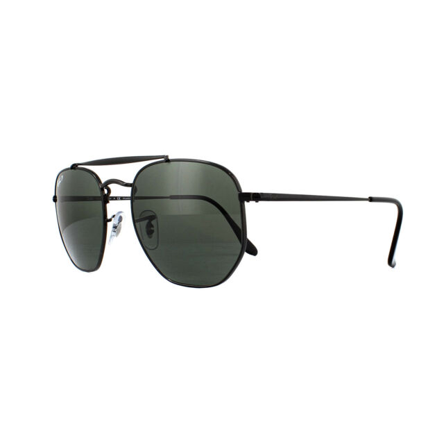 0310dd94d27 Sunglasses Ray-Ban The Marshal Rb3648 002 58 54 Black Polarized for ...