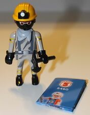 Playmobil Mystery figure - Series 5 - MINER Boy Mask Axe- NEW