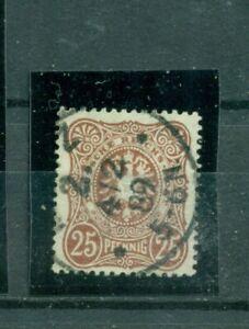 Deutsches-Reich-Reichsadler-im-Oval-Nr-43-a-gestempelt