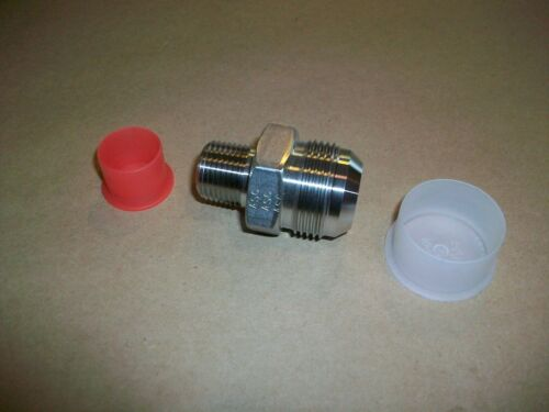 """Details about  /Parker 1.25/"""" NPT Flanged Reducer 3//4/"""" NPT   SS43   NEW"""