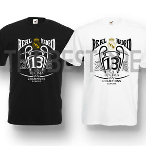 27b47d877 Real Madrid 13 Winner Champions League 2018 T-shirt Football Men ...