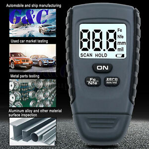 Details about Mini LCD Digital Film/Coating Thickness Gauge  GM200/GM200A/EM2271/EM2271A/RM660
