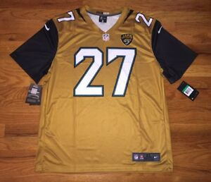 check out 51d87 7c233 Details about 2017 Leonard Fournette Jacksonville Jaguars Color Rush Legend  Jersey - Size M-XL