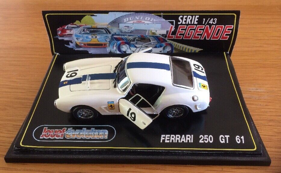 Jouef Evolution Legende Ferrari 250 GT 1961 Scale Model 1 43 Boxed