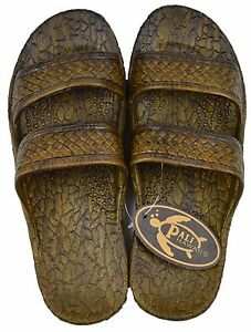 cb8d33861 Image is loading Pali-Hawaii-Jesus-Sandals-Jandals-Hawaiian-Brown-Men-