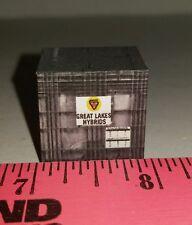1/64 custom farm toy Pallet of great lakes hybrid seeds probox Seed box see desc