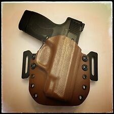 Kydex Holster Outside Waistband (OWB) - S&W M&P Shield 45ACP - Raptor Brown
