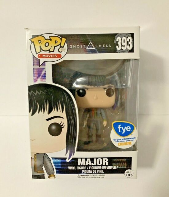 Major Exclusive Pop 10 cm Figurine Ghost in the Shell