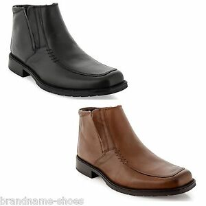 MENS-JULIUS-MARLOW-KREST-FORMAL-CASUAL-LEATHER-BLACK-BROWN-SHOES-WORK-BOOTS