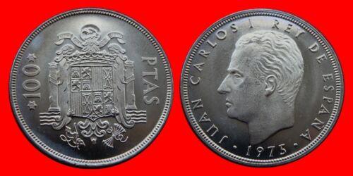 100 PESETAS 1975-76 JUAN CARLOS I UNCIRCULATED US SPAIN