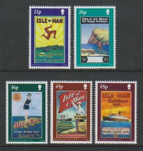 Isle-von-Mann-2000-Tourismus-Poster-Set-MNH-Sg-907-11