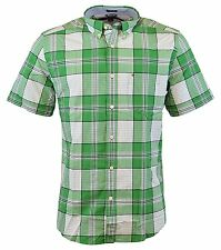 0f195be5 item 2 NEW Tommy Hilfiger Men's Short Sleeve Classic Fit Button-Down Shirt  AMAZON GREEN -NEW Tommy Hilfiger Men's Short Sleeve Classic Fit Button-Down  Shirt ...