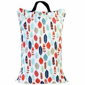 Waterproof-Double-Zip-Large-Wet-Bag-Feather-40x70cm
