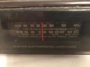 VINTAGE-RETRO-Altes-Radio-FULDA-W130-ca-1975-80