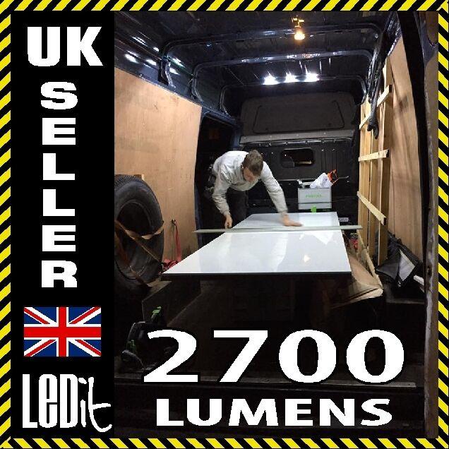 12V LED Light Kit, Interior, XLWB Van - Sprinter - Ducato - Transit - Relay - VW