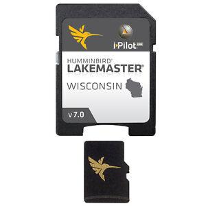 Humminbird LakeMaster Wisconsin - Version 7.0 - MicroSD/SD&#15<wbr/>3;